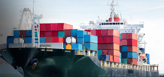 Морские международные перевозки по всему миру